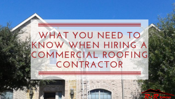 What You Need To Know When Hiring A Commercial Roofing Contractor